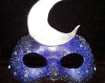 Leather Moon Domino