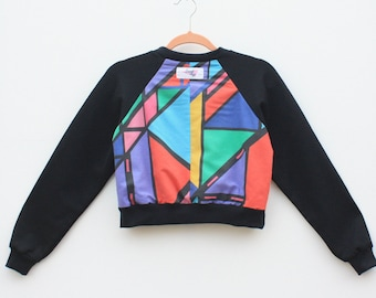 Upcycled Cropped Jumpers Size Extra Small
