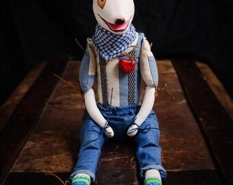 Terry sculpture dog