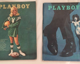 September and October 1967 issues of Playboy
