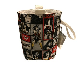 Wonder Woman Project Bag Bucket Bag extra tall