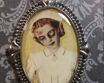 Zombie Nurse Necklace