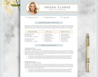 Teacher resume template cv template for ms word creative creative resume template cv template for ms word modern professional resume design resume instant download yelopaper Choice Image