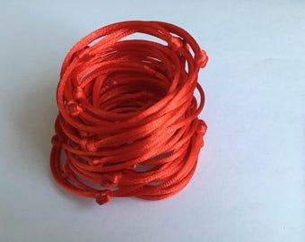 50 Red Bracelets kabbalah hand Set red string 50 Red Thread wholesale Friendship Bracelet Charm Bracelet, Buddhist bracelet Jewish bracelet