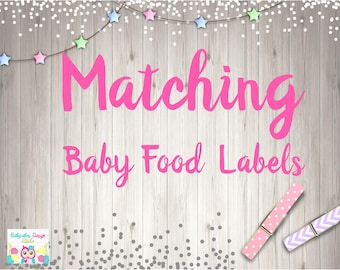 Add BABY FOOD Jar Wrap