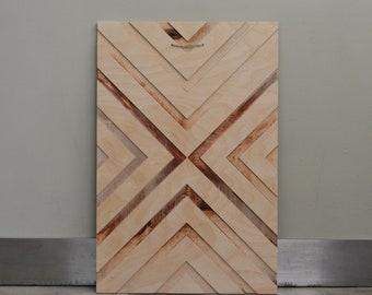 Wall Art, Geometric wood art, Wooden Sign, Decor, Living Room, Office, Wood Wall Sign, Home, Interior Design, Minimalistic