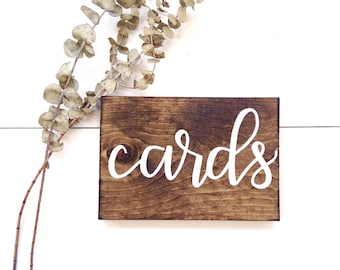 Cards sign   wedding gifts sign, rustic wedding decor, rustic wedding signs, rustic wood signs, wood cards sign, card sign wood