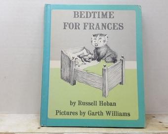 Bedtime for Frances, 1960, Russell Hoban, Garth Williams, vintage kids book
