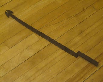 Pre Civil War Nail Puller , Hand Forged Tool , Primitive Tool , FREE SHIPPING!!