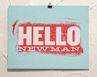Hallo Newman