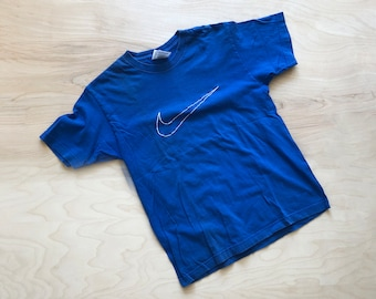 90's Kid's Nike Embroidered Swoosh T-Shirt