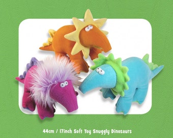 Pattern Dinosaurs Dippy Dinosaurs Funky Friends Factory Stuffed animal plush toy baby toy Plush toy