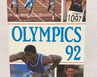 Ladybird 'Olympics 92' Hardback Book