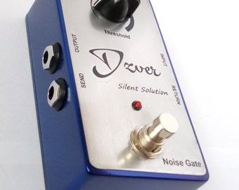 Dzver Silent Solution Noise Gate Suppressor Guitar Pedal