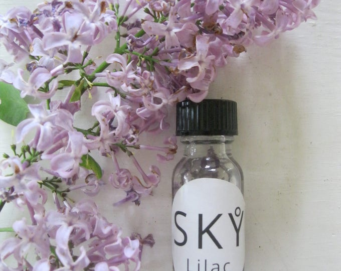 Featured listing image: Handmade LILAC flower essence oil / Flower essence therapy oil / Wild crafted Lilac fragrance oil (limited quantity)