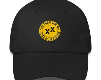 The Great Seal of the State of Jefferson Flag Classic Dad Cap/Hat