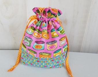 Sock Project Bag: Gushy Noms