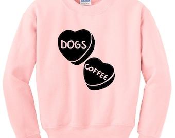 Candy Hearts Sweatshirt, Anti Valentines Day Shirt, Funny Valentine, Valentine Gift, Valentine Shirts, Sugar Hearts, Tumblr Sweatshirts,