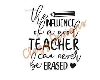Teacher SVG File, Teacher Quote, Teacher Appreciation, Teacher Gift, Teacher Sign, Teacher Printable, School, JPG, JPEG, Digital Download