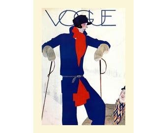 Vogue Magazine cover Poster Print