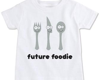 Future Foodie Organic Cotton Toddler T Shirt