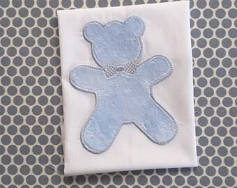 Baby Applique Machine Embroidery Design Boy Bear