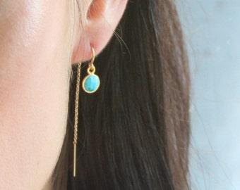 Kylie - Gem Drop Earrings