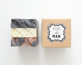 You Da Man Gift Set - 3 Soaps of your choice