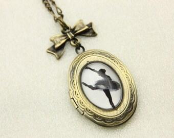Dancer Locket Necklace jewelry