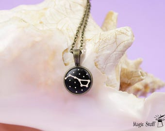 Big Dipper necklace Ursa Major necklace Gift for her Constellations necklace Stars necklace Gift for girlfriend Space necklace Romantic gift