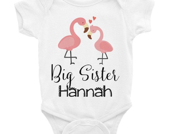 Custom Big Sister, Big Sister Onesie ® , custom onesie, baby onesie, big sister, big sister shirt, big sister gift, custom big sister,