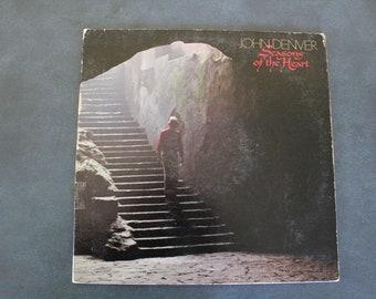 John Denver Vinyl Records - Windsong 1975 - I Want To Live 1977