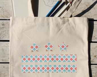 Washington DC Tote Bag - DC Canvas Bag - More Fabric Options Available!