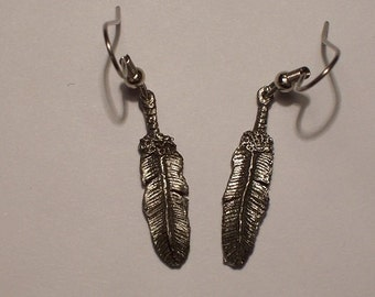 New Design for my Native Line.....Lone Eagle Feather Earring
