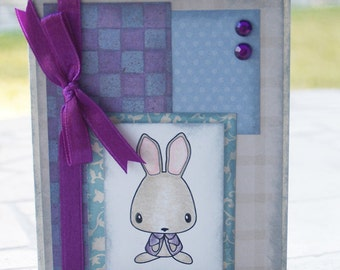 Bunny Rabbit Any Occasion Card