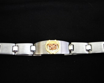 Cadillac Stainless Steel Bracelet