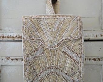 Beautiful vintage French handmade evening bag