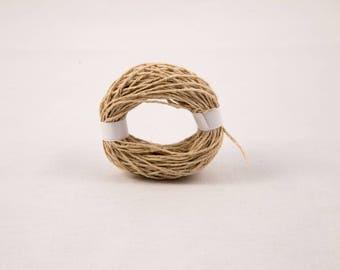 Natural Hemp Yarn 1 mm