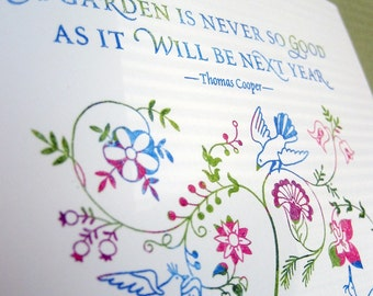 Good Garden Limited-Edition Print 1/20