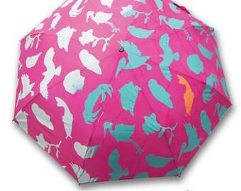 Pink Wet & Reveal Umbrella