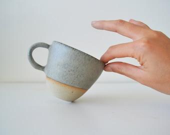 Bush Flower Handmade Ceramic Tea & Coffee Cup