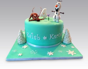 Edible Cake Topper Set