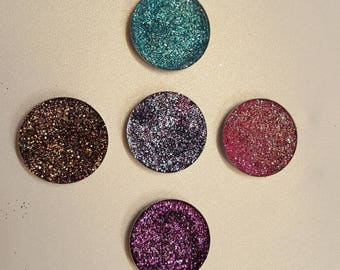 Disney Princess inspired pressed glitters