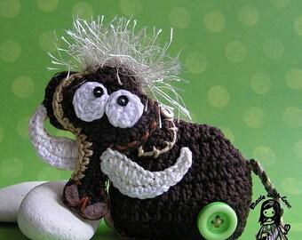 Crochet mammoth  - pdf pattern DIY