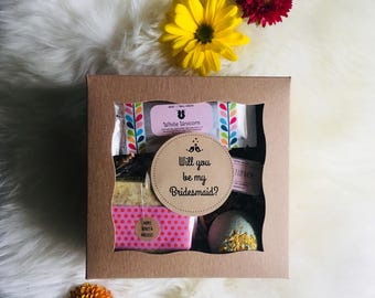 Will You Be My Bridesmaid Gift Box: Bridesmaid Proposal, Will you be my bridesmaid, Bridesmaid gift, Bridesmaid Ask, Mother of the bride