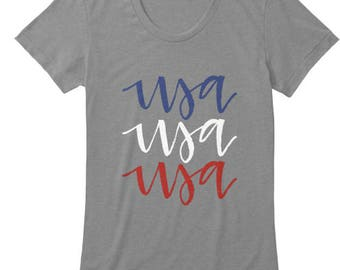 USA - Women's Tee