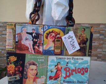 """Bag """"Vintage Ads"""""""