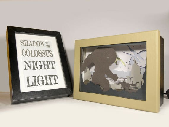 Shadow of the colossus night light video game home decor like this item teraionfo