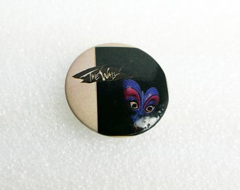 Pink Floyd - 'The Wall' Pin Back Button Badge