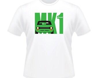 Retro 1960s 1970s Ford Escort MK 1 Mark One Motor Car T-Shirt